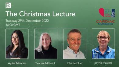 The Christmas Lecture – a celebration of cardiovascular nursing