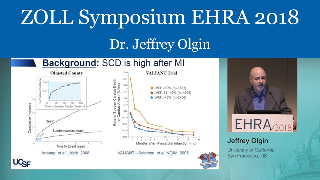 ZOLL Symposium - EHRA 2018 - Dr. Jeffrey Olgin