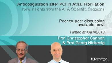 Anticoagulation after PCI in Atrial Fibrillation