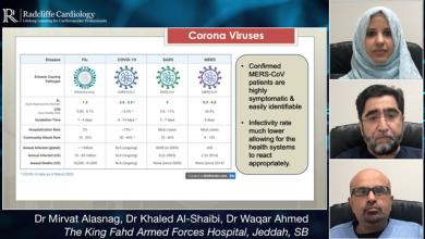 Management of ACS during the MERS-CoV Outbreak & Saudi Arabia's Response to COVID-19
