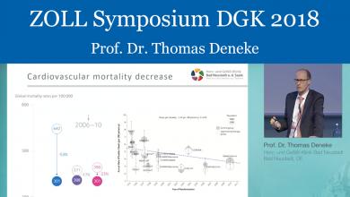 ZOLL Symposium - DGK 2018 - Prof. Dr. Thomas Deneke