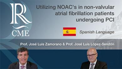 NOACs in non-valvular atrial fibrillation patients undergoing PCI - SPANISH