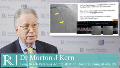 EuroPCR 2019: Opsens physiology wire in serial lesions and TAVI patients with CAD - Dr Morton J Kern