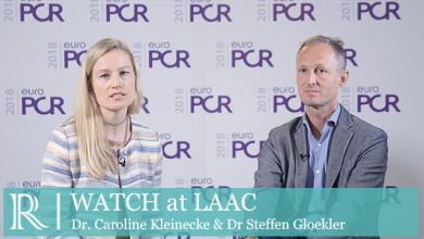 EuroPCR 2018: WATCH At LAAC - Dr Caroline Kleinecke & Dr Steffen Gloekler