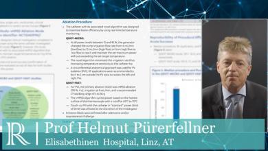 ESC 2019: Novel Temperature-Guided Irrigated Ablation Catheter - Prof Helmut Pürerfellner