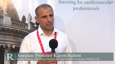 ESC 2016: Blood pressure lowering for prevention of cardiovascular disease and death