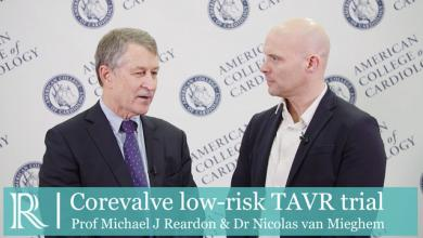 ACC 2019: Corevalve low-risk TAVR Trial