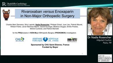 ACC 2020: PRONOMOS Trial - Rivaroxaban Versus Enoxaparin
