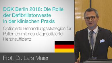 DGK Berlin 2018: Die Rolle der Defibrillatorweste in der Klinischen Praxis