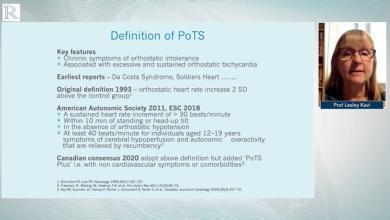 Part 1: PoTS definition, epidemiology & diagnosis