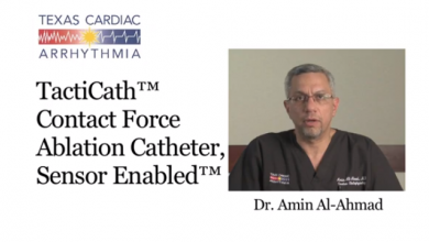 The TactiCath Catheter for Ablation