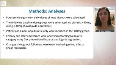 HFA 2020: Dapagliflozin and diuretic use in patients with HFrEF in DAPA-HF