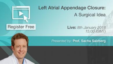 Left Atrial Appendage Closure - Prof. Sacha Salzberg