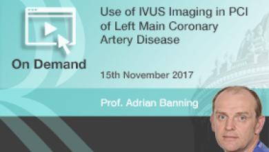 Use of IVUS Imaging in PCI of Left Main Coronary Artery Disease