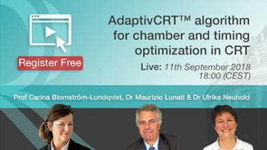 AdaptivCRT Algotithm for Chamber and timing optimization in CRT Devices