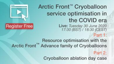 Arctic Front Cryoballoon Service Optimisation in the COVID Era